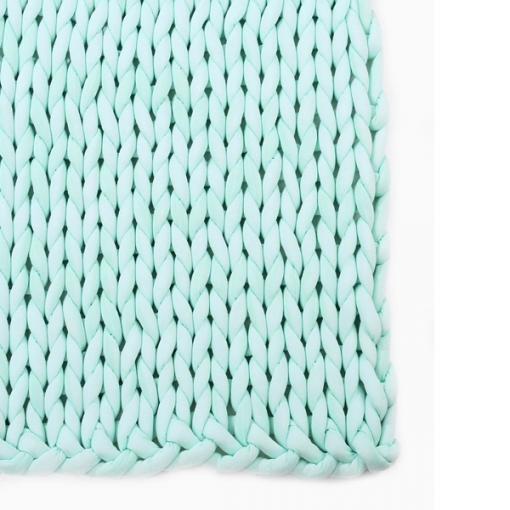 kézzel kötött takaró